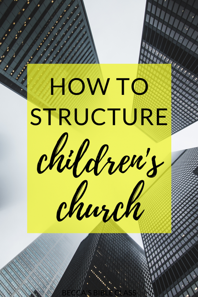 HOW TO STRUCTURE CHILDREN'S CHURCH IN 6 EASY STEPS If you just started teaching Sunday School or Children's Church and you just DON'T KNOW WHAT TO DO, then this is where to start! In this article we talk about what to do when in children's church. Becca's Bible Class.