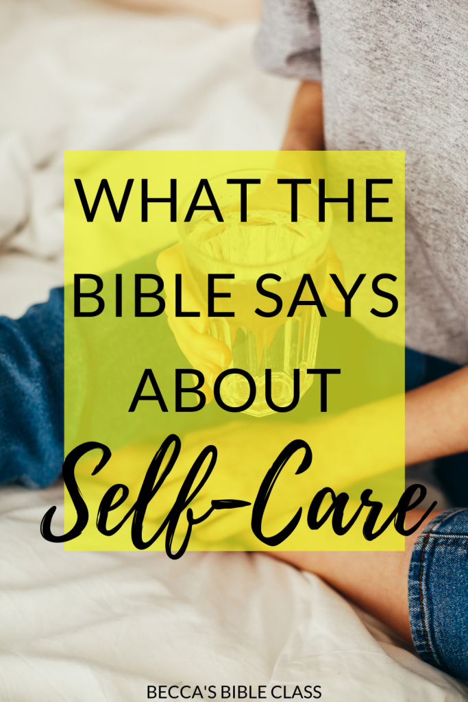 Did you know that the Bible actually talks about self care? In Exodus, Moses is told by Jethro that he shouldn't work himself to death. That's something any church volunteer needs to hear too! This post talks all about self care in the Bible. Becca's Bible Class